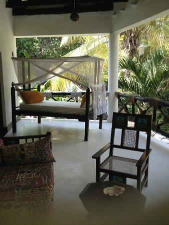 Scorpio Villas: Terraza de la habitación