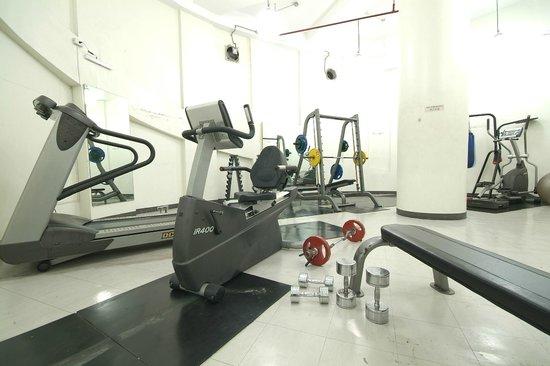 Casa Bocobo Hotel at Zen Towers: Gym