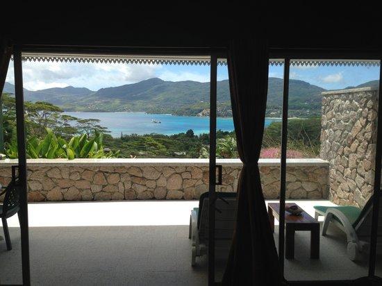 Anse Soleil Resort: vue depuis le lit