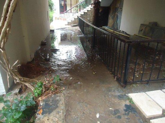 Golden Age Hotel: innondation