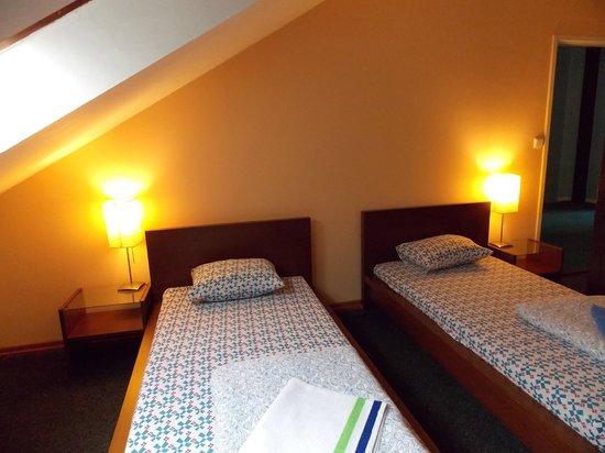 Sokolska Youth Hostel: Twin room