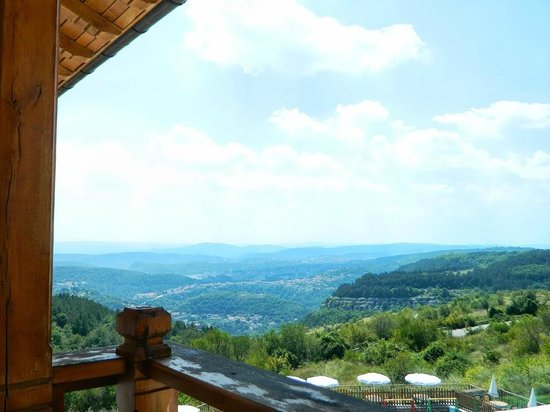 Park Hotel Sevastokrator: view towards Veliko Tarnovo