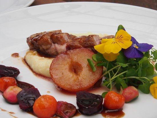 Stonyridge Vineyard: Duck with potato mash - amazing!!