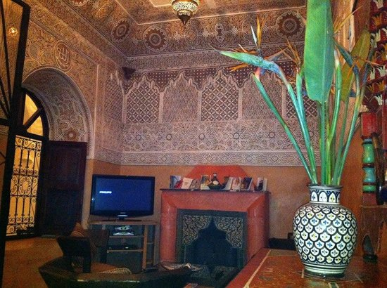 Riad Nasreen : Sitting room