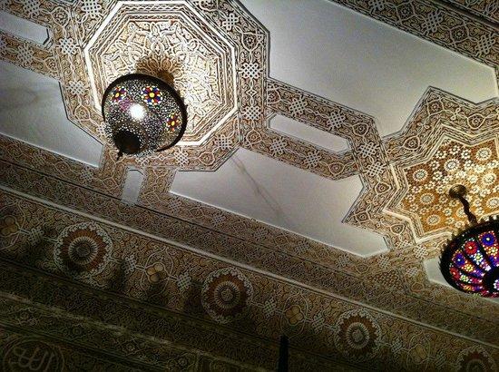Riad Nasreen : Sitting room celing