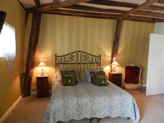 """Le Patio Saumur : La chambre """"Loire"""""""