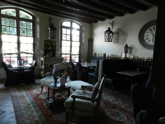 Le Patio Saumur : La salle petit déjeuner