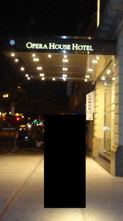 Opera House Hotel: Entrée hôtel