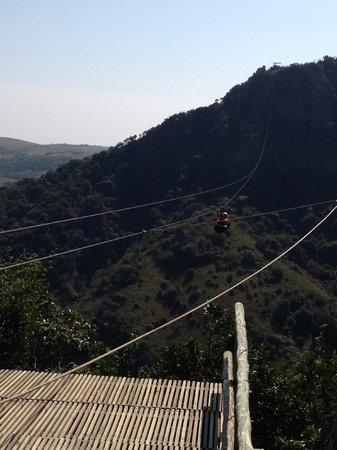 Lake Eland Zip Lines: Crossing the gorge