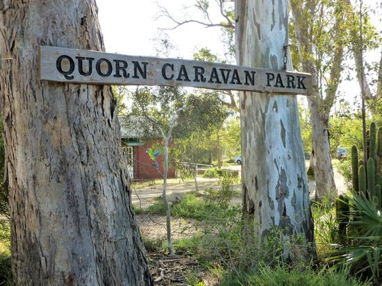Quorn Caravan Park: Welcome to the park