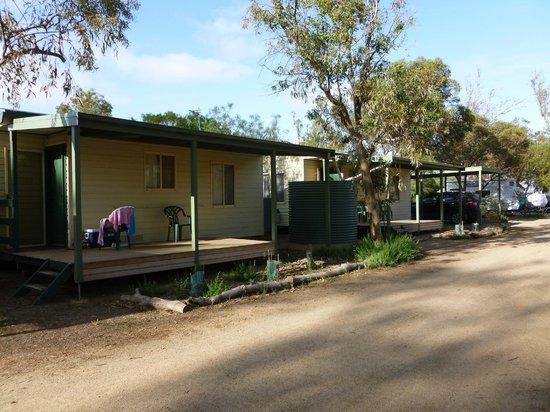 Quorn Caravan Park: The newer Cabins