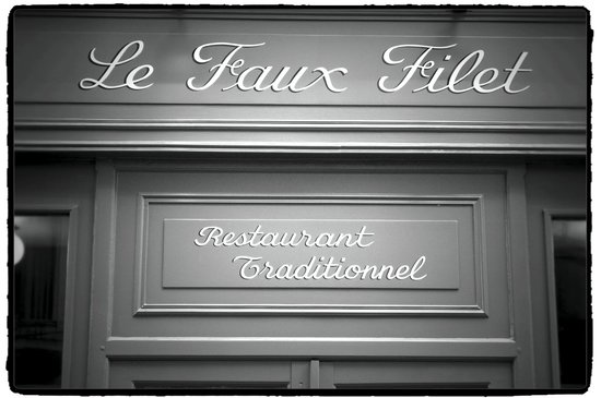 une vraie cuisine de tradition picture of le faux filet paris tripadvisor. Black Bedroom Furniture Sets. Home Design Ideas