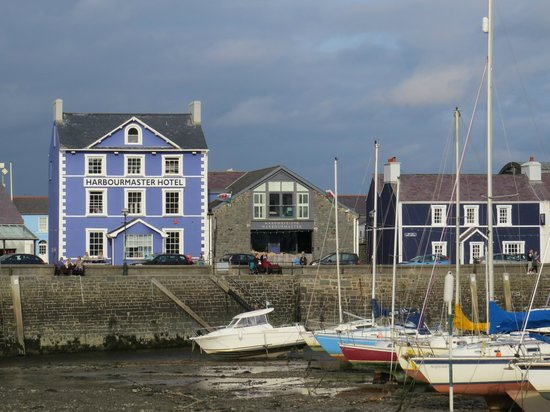 Harbourmaster Hotel: From across the harbour