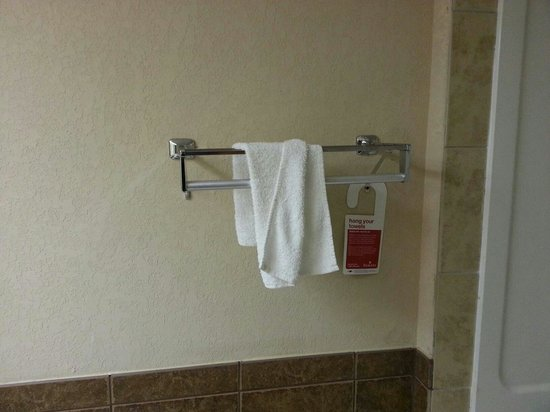 Ramada West Atlantic City : One hand towel we entered the nasty room.