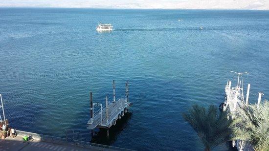 Caesar Premier Tiberias: Lago Tiberias (Mar de Galilea)