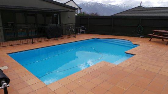 Kaikoura Gateway Motor Lodge: Pool