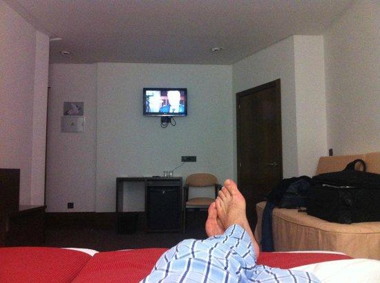 Hotel Domus Plaza Zocodover : Habitación