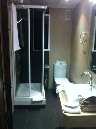Hotel Domus Plaza Zocodover : Baño de la habitación