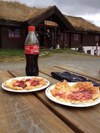 Hol Municipality, Norwegia: Short stop for Vafler