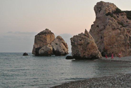 Aphrodite's Rock: Sunset at Aphrodite