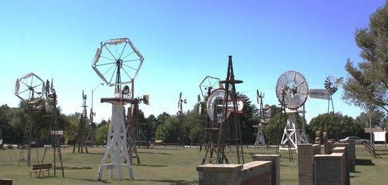 Shattuck Windmill Museum: Windmill Musrum, Shattock, Oklahoma
