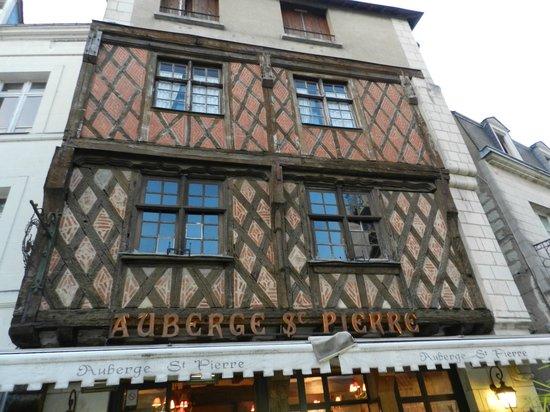 L'Auberge Saint Pierre : Façade Auberge St-Pierre