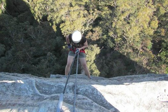 High 'n Wild Mountain Adventures: 3rd abseil