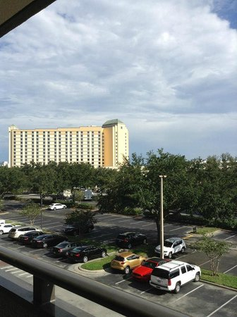 Rosen Inn at Pointe Orlando: View from balcony