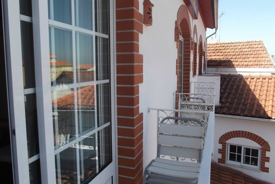 Hotel Central: balcony