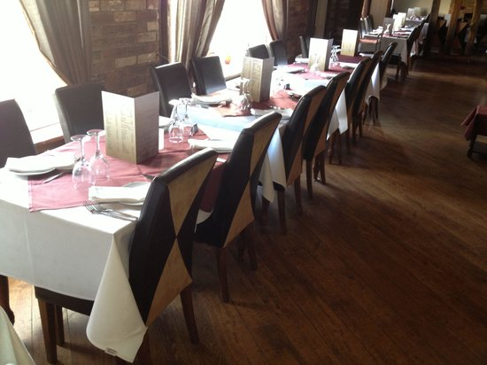 The Old Counting House: In restaurant