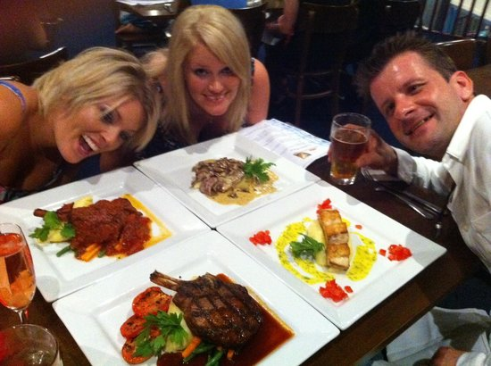 Sorrento Restaurant and Bar : Great food, great company