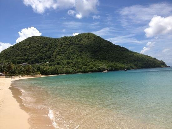 Coco Palm Resort: Reduit beach - paradise