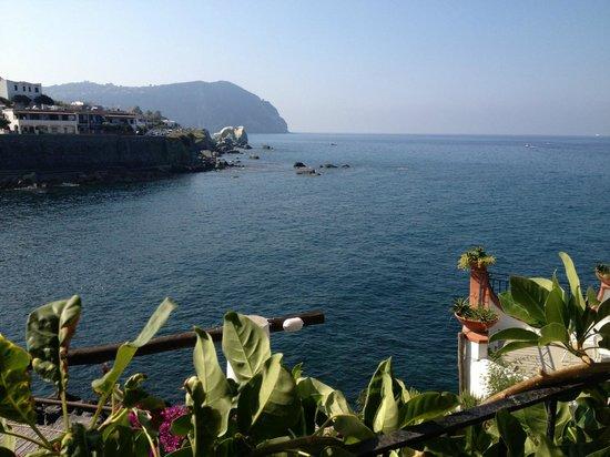 Hotel Umberto a mare: Vista dalla nostra stanza