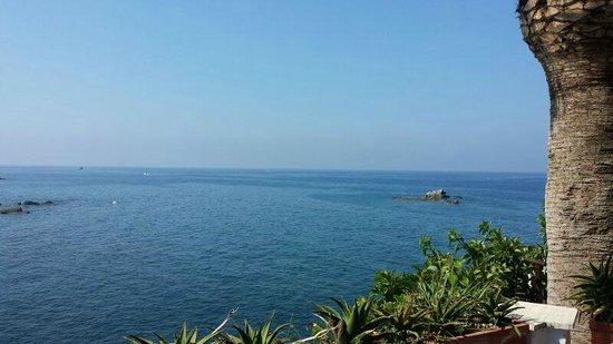 Piccolo Hotel Umberto a Mare: Vista dalla nostra stanza