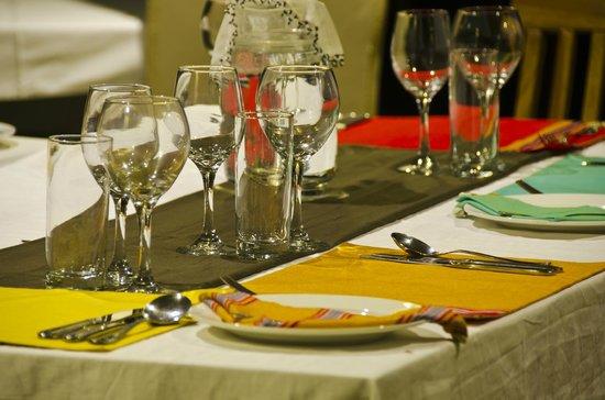 Nalepo Mara Camp: Dinner time at Nalepo