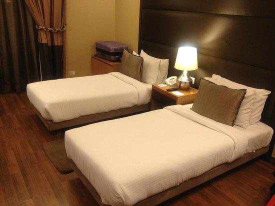 The Visaya : Comfy beds.