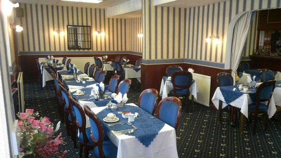 The Moorfield Hotel : Dining room