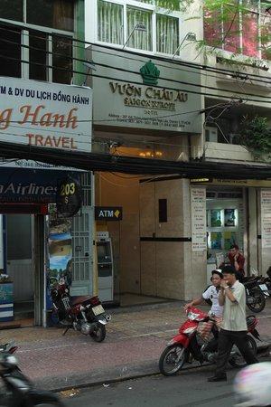 Saigon Europe Hotel: outside