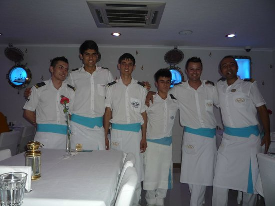 The Staff at the Love Boat Icmeler