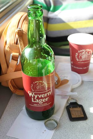Settle Carlisle Railway: Souvenirs and that lager