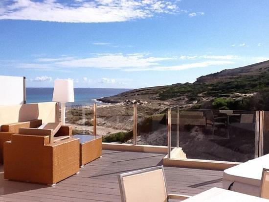 Viva Cala Mesquida Club: une partie de la terrasse....