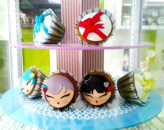 Mr Sweetie: Cupcake decorati in pasta di zucchero