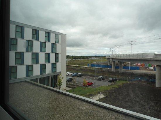 Novotel Edinburgh Park : Room with the View