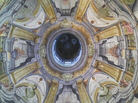 San Francesco Church : affreschi della volta
