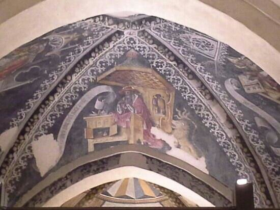 San Francesco Church : Pietro da saluzzo affreschi
