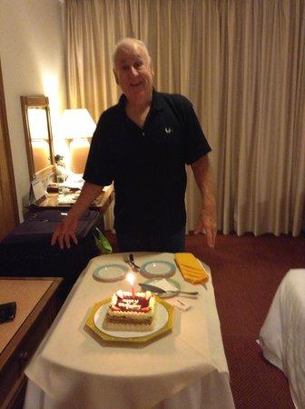 Sunway Hotel Phnom Penh: Happy Birthday to Trev.