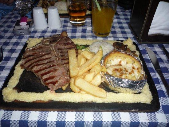Friends Fun Pub: Just one of the fantastic meals they serve Yummmmmmm
