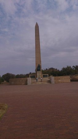 Anglo Boer War Museum: Memorial column