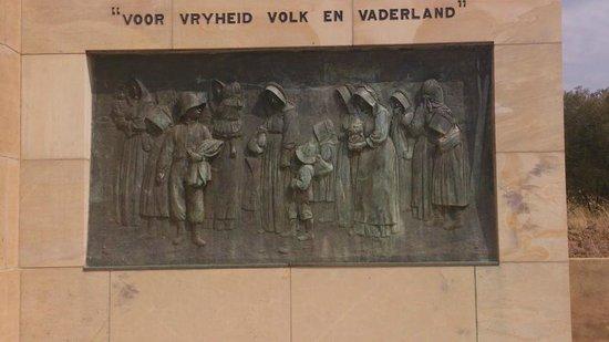 Anglo Boer War Museum : Womens memorial plaque