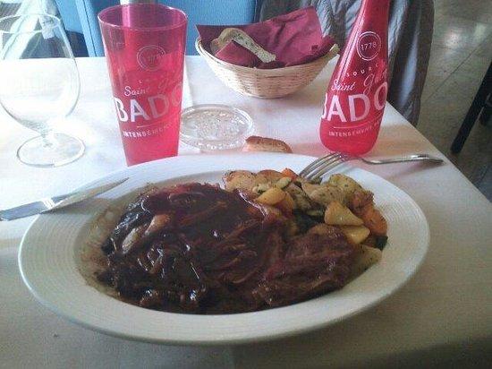 Restaurant Le Globe: Entrecôte saignante